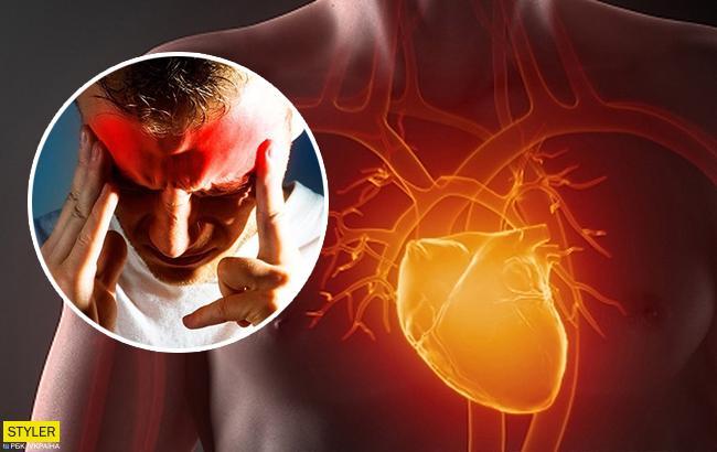 З'ясувалася несподівана причина інфаркту і інсульту