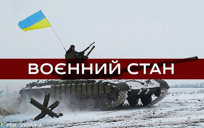 Военное положение в Украине завершается сегодня