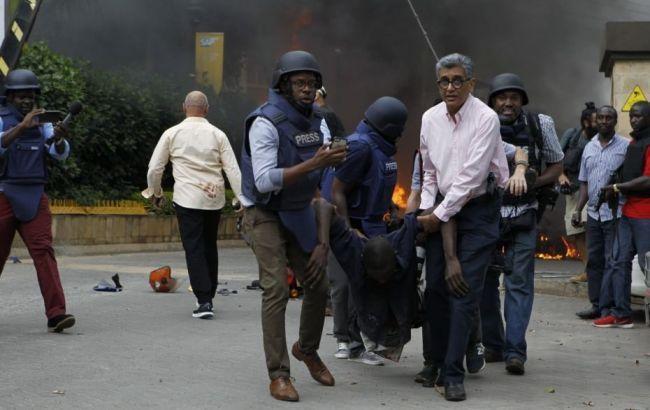 Количество жертв теракта в Кении возросло до 21
