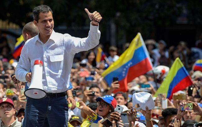Гуайдо закликав до маршу на Каракас
