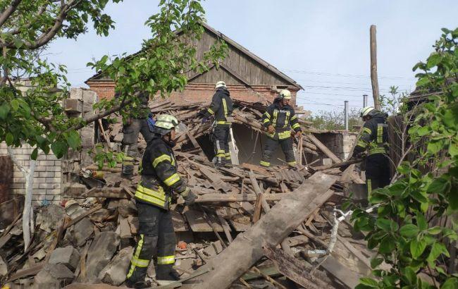 У Маріуполі вибухом знесло частину житлового будинку