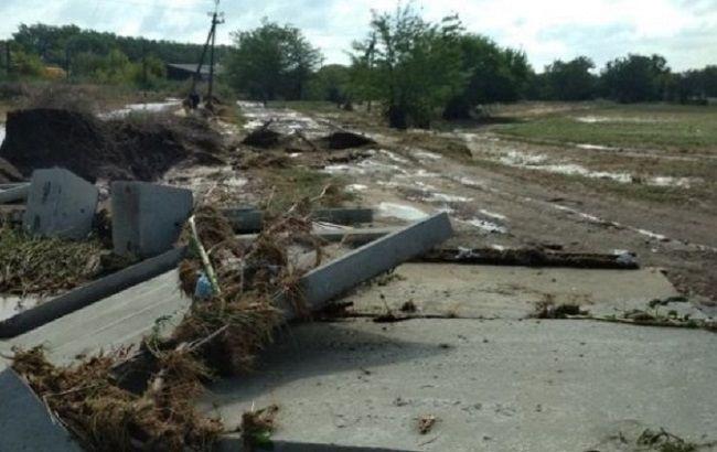 Страшный ураган под Одессой: из-за селевого потока погиб мужчина (фото)