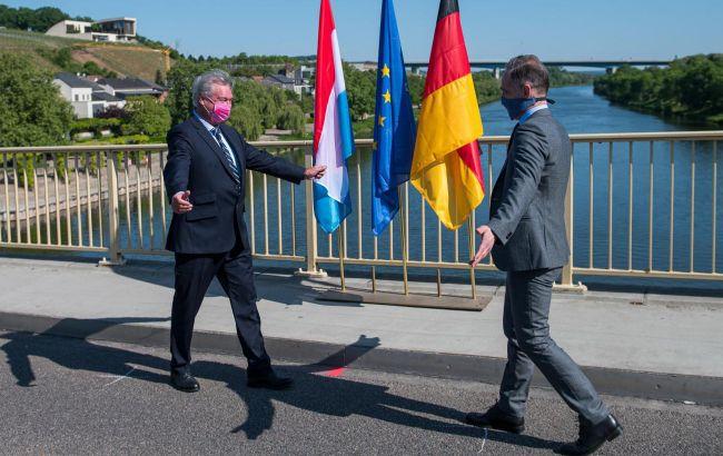 Німеччина відкрила кордон з Люксембургом на Мозельському мосту біля Шенгену