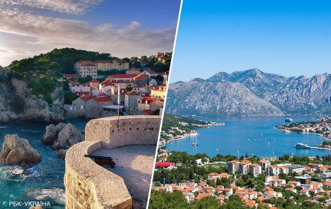 Велика різниця: порівнюємо ціни на відпочинок у Хорватії та Чорногорії у вересні