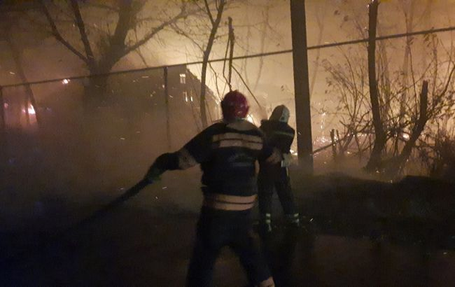 Пожежі в Луганській області: поліція не виключає підпал