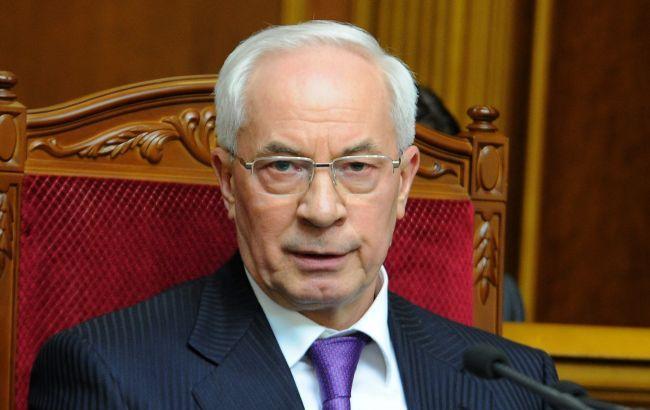 Фото: экс-премьер-министр Украины Николай Азаров