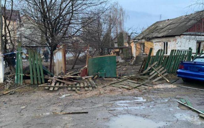 При взрыве в Боярке погиб мужчина. Сам пытался подорвать знакомую