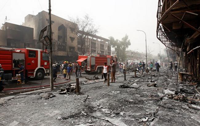 Фото: подвійний теракт у Багдаді