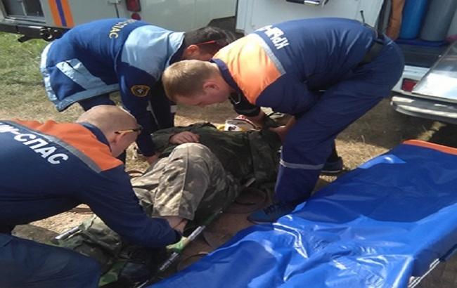 Фото: украинский турист пострадал в Крыму