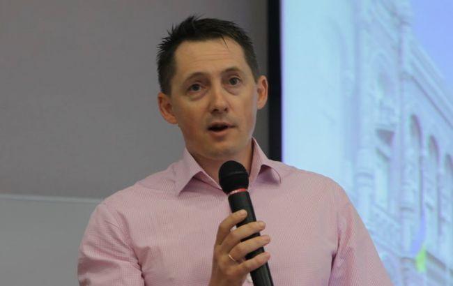 Фото: голова Асоціації членів платіжних систем ЕМА Олександр Карпов