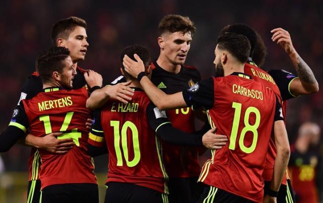 Фото: сборная Бельгии