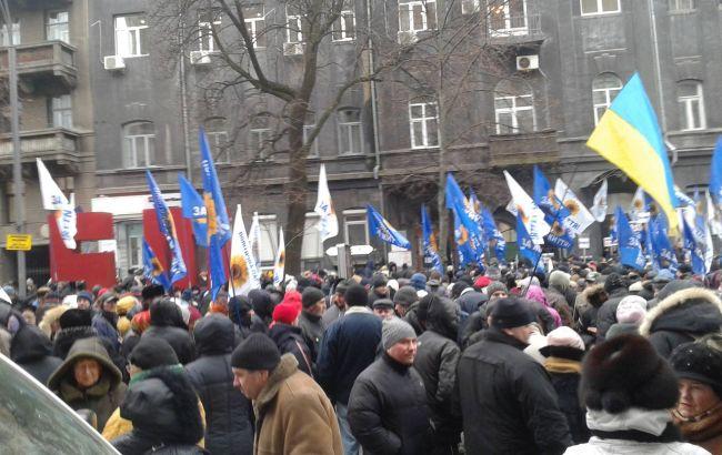 Фото: мітинг за відставку Гонтарєвої