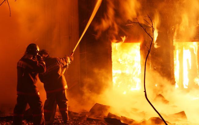 Фото: пожежа в Дніпропетровській області