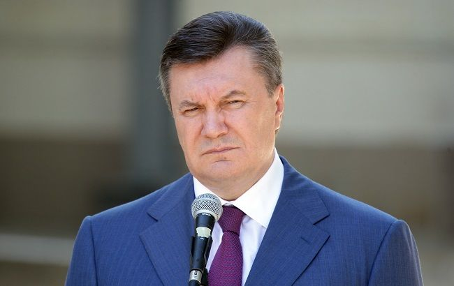 Фото: Виктор Янукович в Украине подозревается в госизмене