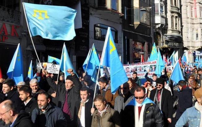 «Крымская акция протеста» прошла вСтамбуле