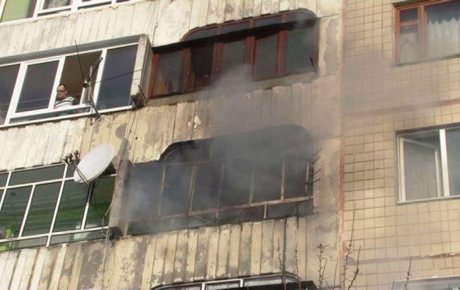 Из-за пожара издома воЛьвове эвакуировали 50 человек
