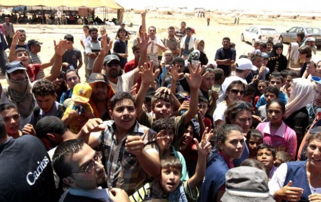 Фото: Біженці із Сирії