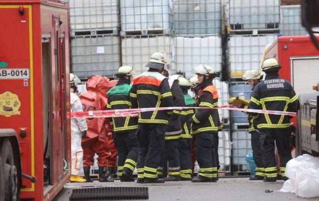 Авария на химзаводе в Гамбурге не представляет опасности для населения