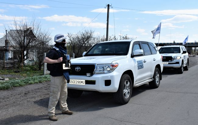 ОБСЕ зафиксировала на Донбассе 165 нарушений
