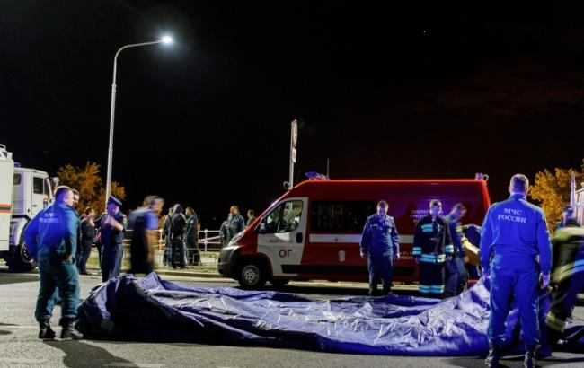 Фото: спасательная операция в Волгограде (v1.ru)