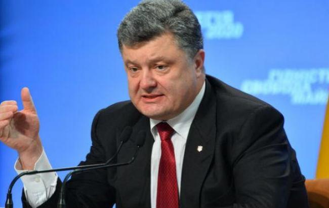 Порошенко надеется на избрание 26 октября проукраинского парламента