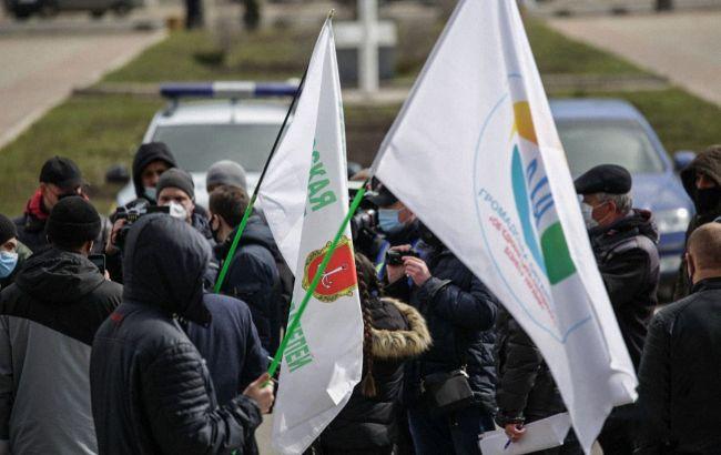 В Одесі вийшли на карантинний протест підприємці