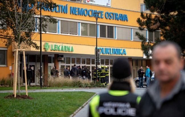 Стрілянина в Чехії: підозрюваний вистрілив собі в голову