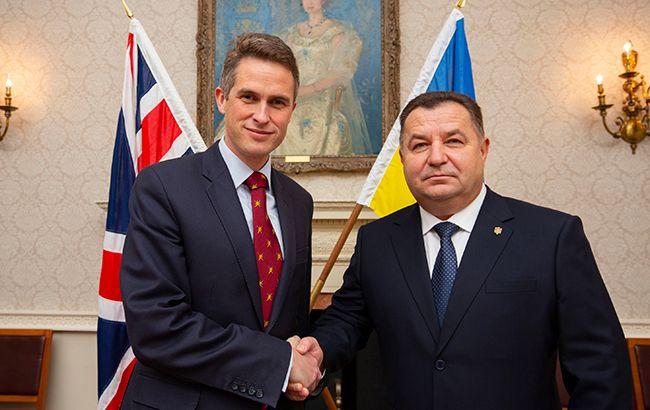 Украина и Британия усилят сотрудничество по противодействию российской агрессии