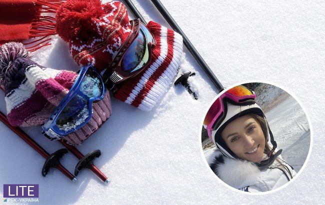 """Хотел """"летать"""" на подъемнике: Анна Ризатдинова рассказала о зимних каникулах с сыном"""