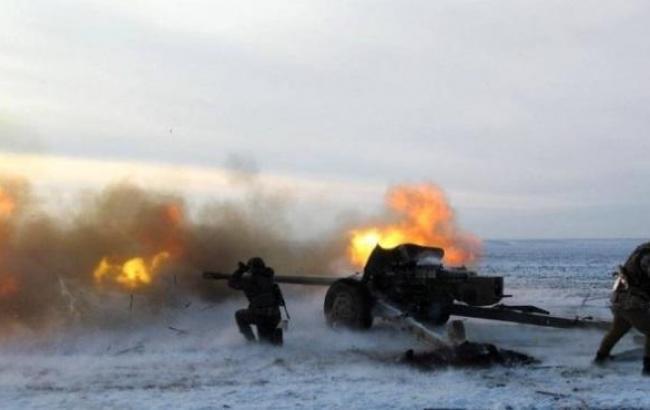 Число обстрелов боевиками позиций украинских силовиков увеличилось до 34, - штаб