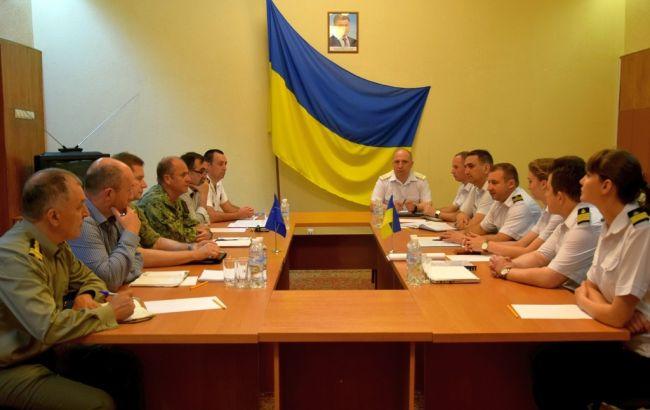Фото: зустріч військових в Одесі (прес-служба МО)
