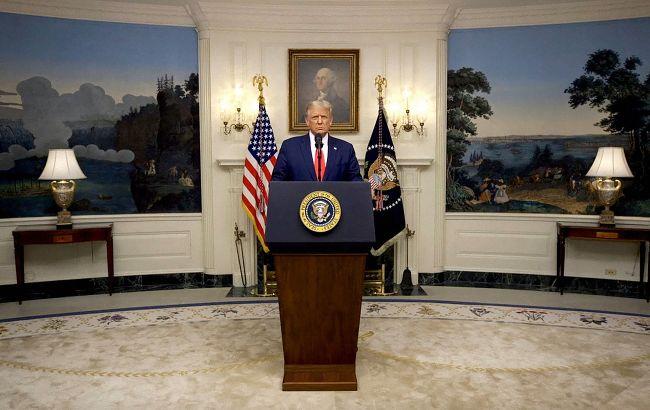 Трамп выступил с прощальным обращением: горжусь, что не начал новых войн