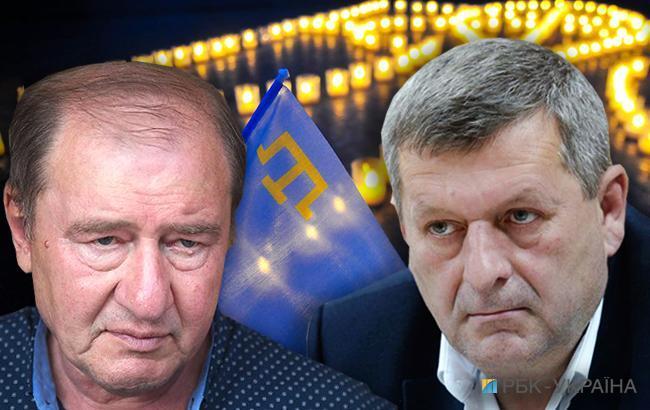 Фото: Ильми Умеров и Ахтем Чийгоз (коллаж РБК-Украина)