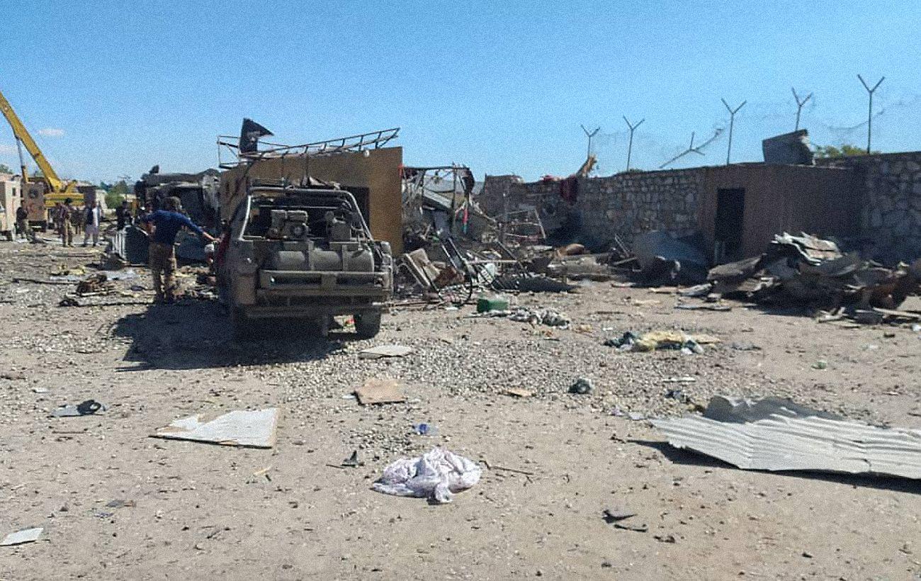 В Афганистане смертник атаковал здание спецслужбы, есть погибшие