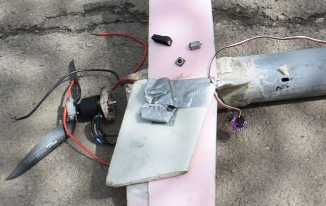 Фото: остатки боевого дрона (facebook.com/ato.news)