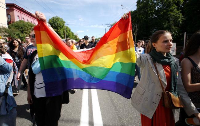 Фото: Напали на акцію ЛГБТ-спільноти відпустили (РБК-Україна)