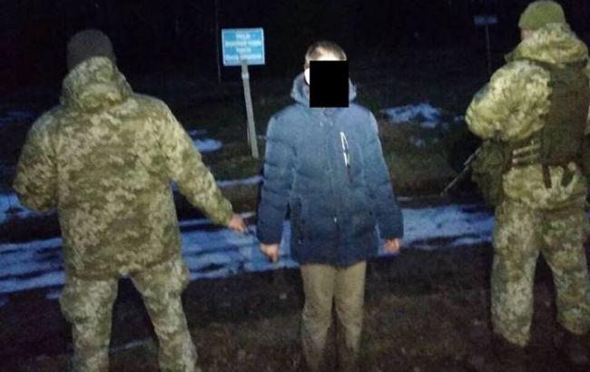 В Харьковской области пограничники задержали россиянина