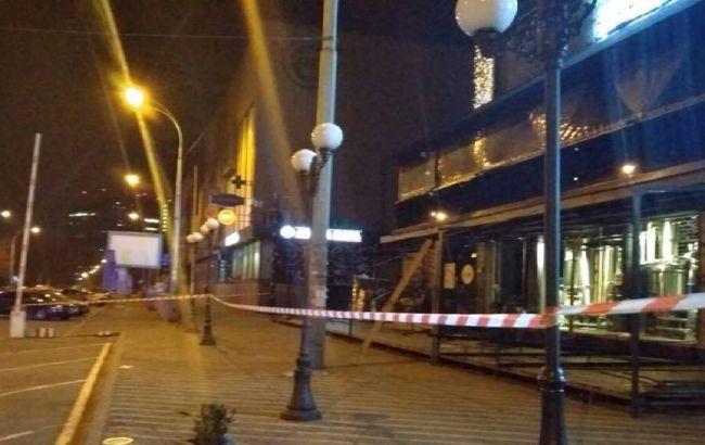 """Обстрел """"Киевгорстроя"""": полиция изъяла записи с места инцидента"""