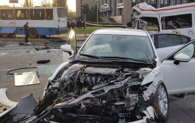 ДТП в Кривом Роге: полиция открыла дело