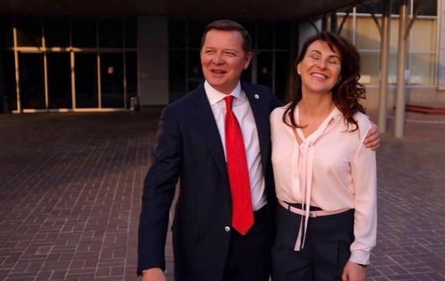 Олег Ляшко з дружиною (фото: facebook.com/O.Liashko)