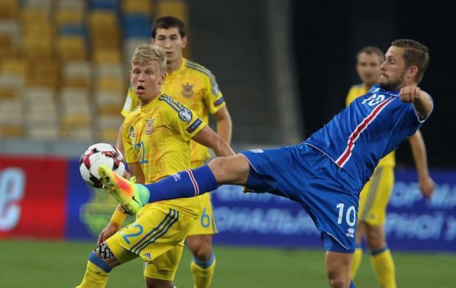 Украинская сборная пофутболу отправилась вИсландию наотбор дляЧМ