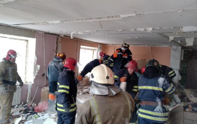 Взрыв в Фастове: эвакуировали 70 жильцов дома