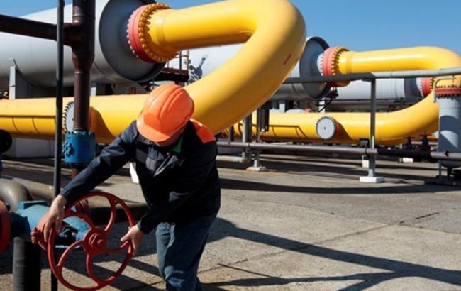 Кількість газу в ПСГ України скоротилася на 0,37% - до 15,296 млрд куб. м