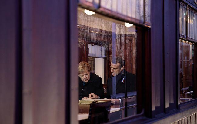 Макрон і Меркель готують ініціативу щодо виходу ЄС з коронакризи