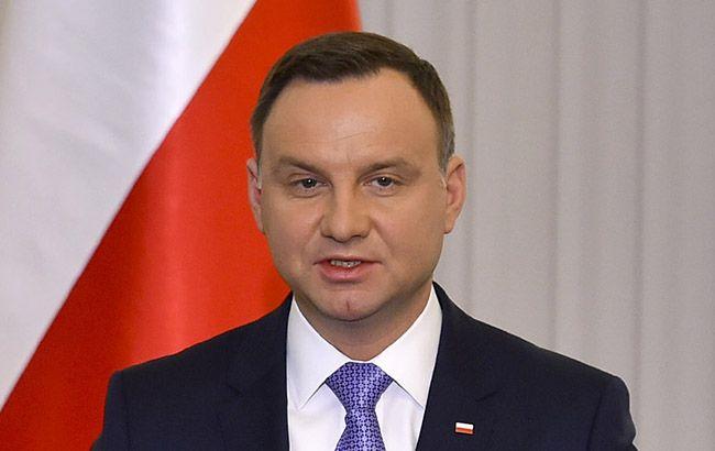 """Польша """"выставит счет"""" Германии за Вторую мировую войну, - Дуда"""