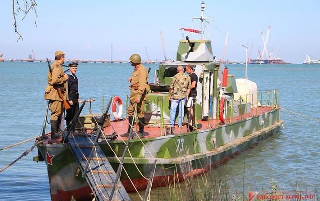 Новость о появившемся плавучем музее-бронекатере в Крыму высмеяли в соцсетях
