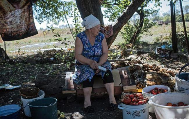 Тільки десята частина пенсіонерів Донецька переоформила свої пенсії на інших територіях, - Лук'янченко