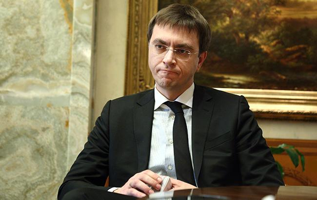 Министр инфраструктуры Владимир Омелян (фото - Виталий Носач)