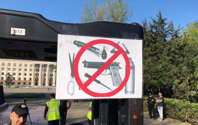 Фото: в Одесі посилено патрулювання і перекриті вулиці (facebook.com/gunp.odessa)
