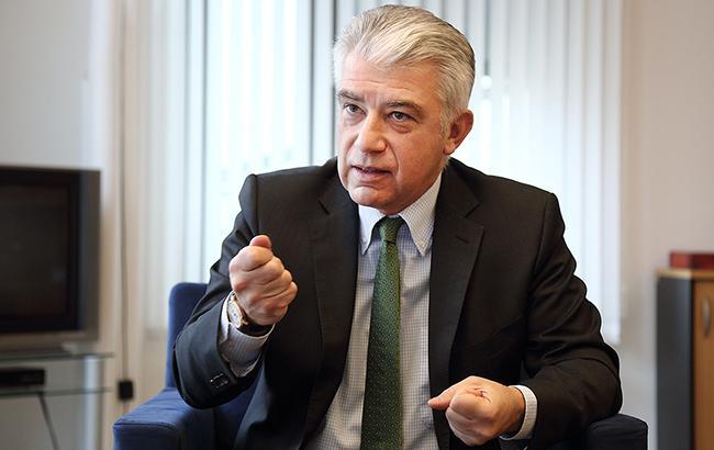 Ернст Райхель: Необов'язково, що вибори на Донбасі можуть відбутися тільки тоді, коли там не буде російських військ